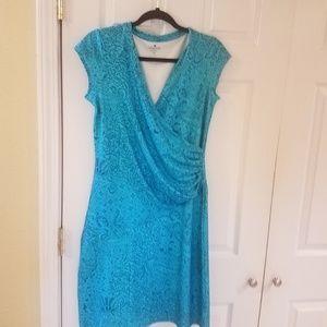 ♡Athleta♡ Nectar  Faux Wrap Dress sz small
